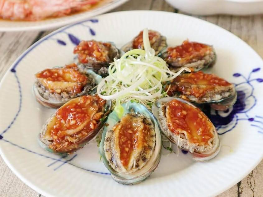 (年菜料理)五味鮑魚