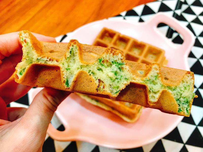 芹菜葉鬆餅