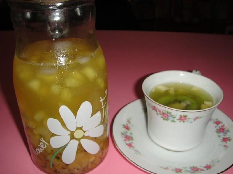 《小資女元氣充電》雙色奇異果水果茶