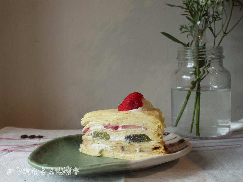 [免烤箱]水果千層蛋糕🍰