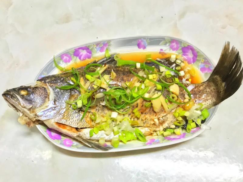 辦桌的味道㊣清蒸鱸魚