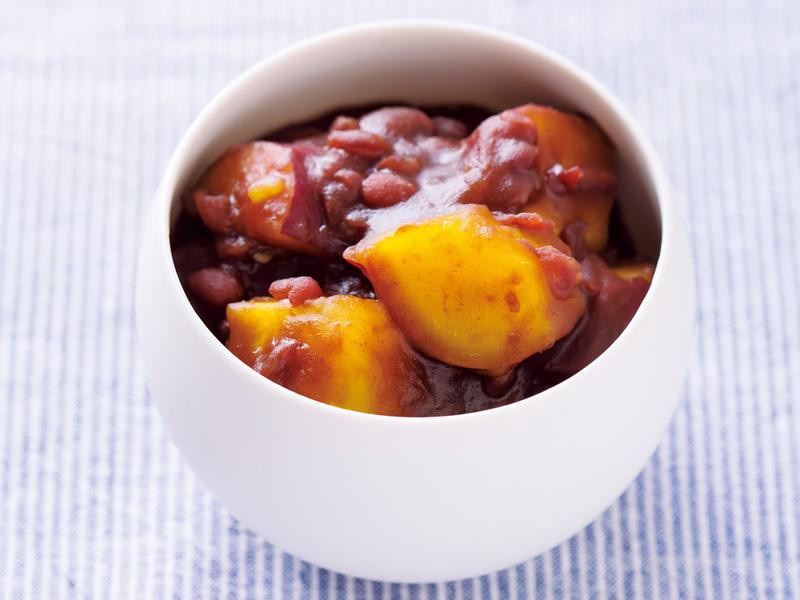 【孕期消水腫】日式紅豆地瓜