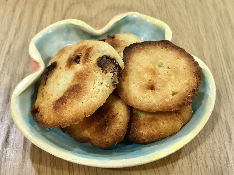 葡萄乾餅乾、原味餅乾(小烤箱)