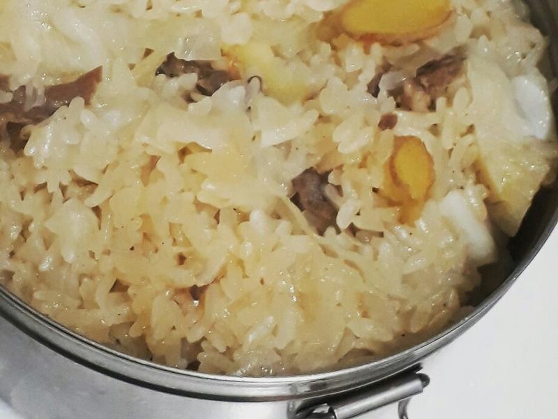 麻油羊肉燉飯