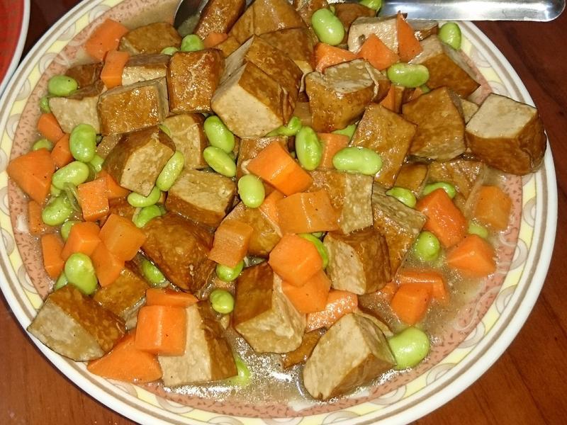 ✨毛豆炒豆乾✨
