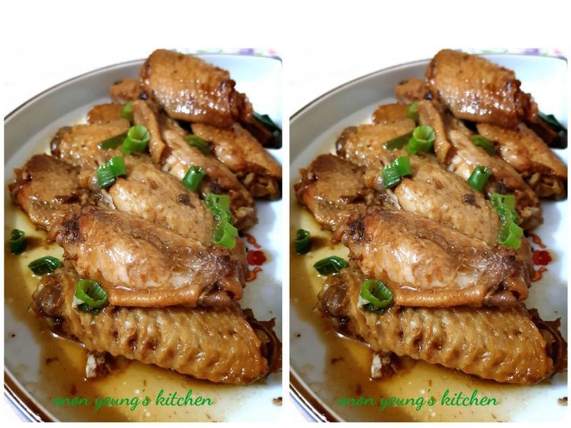 簡易料理の可樂雞翅