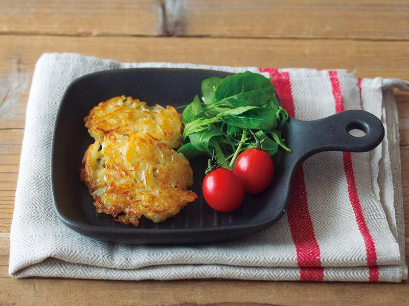 【在家吃早餐】快速自製馬鈴薯薯餅