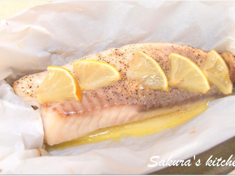 ♥我的手作料理♥  烤紙包魚