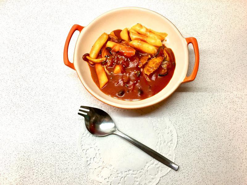 簡速韓式炒年糕(一人食)