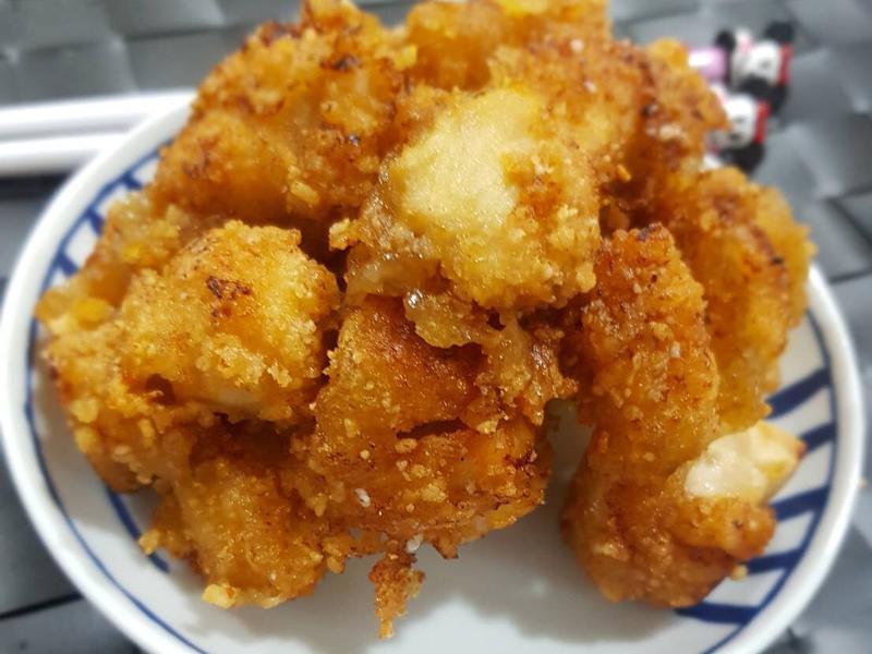酥炸豆乳雞 三步驟完成夜市美食