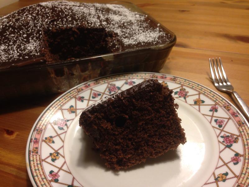 土式巧克力布丁蛋糕