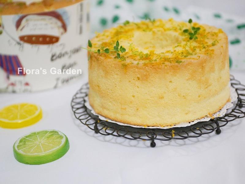檸香甜橙戚風蛋糕(適合初學者的詳細說明)