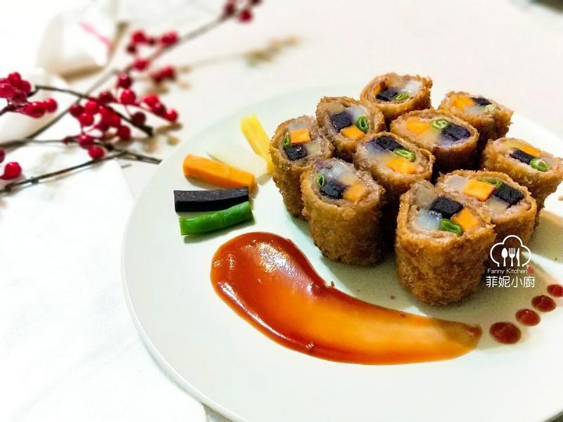 五福臨門蔬食肉捲