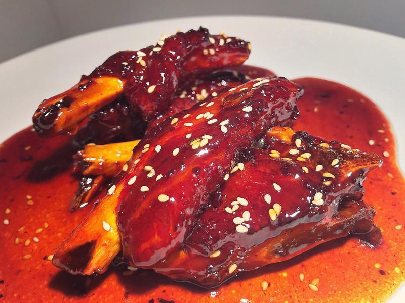 中式年菜-糖醋排骨(不加一滴醬油)