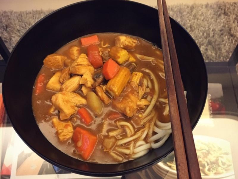 日式咖喱烏龍麵