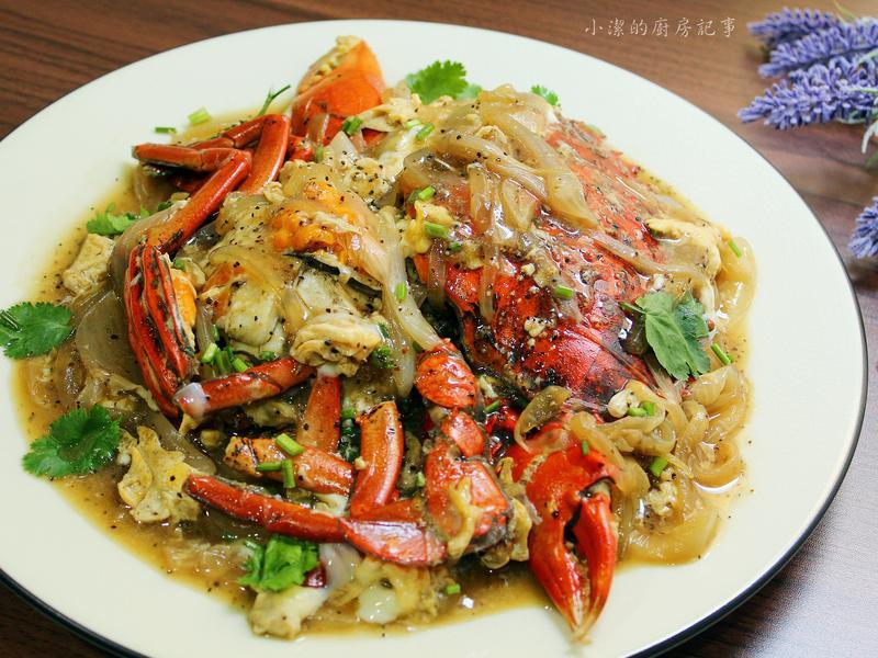 黑胡椒奶油螃蟹