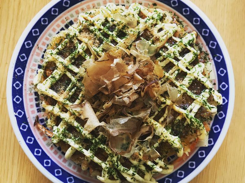 🌟豬肉泡菜麻糬大阪燒🌟