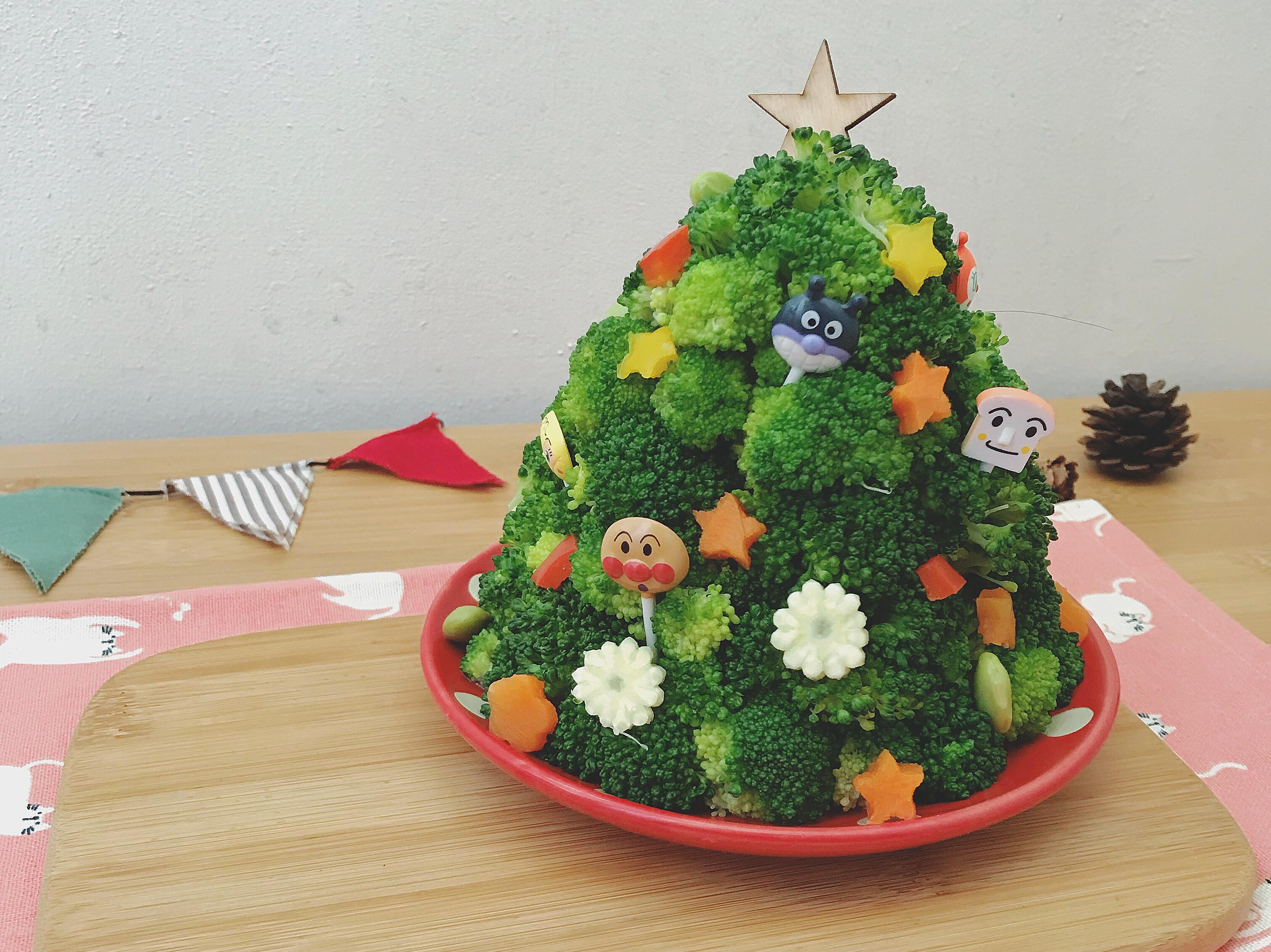 花椰菜 聖誕樹