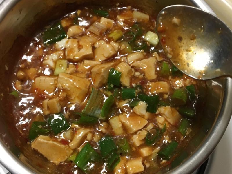 懶人料理麻婆豆腐