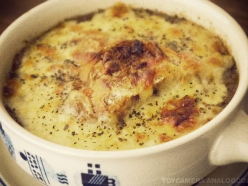 法式洋蔥湯(兩人份食譜)