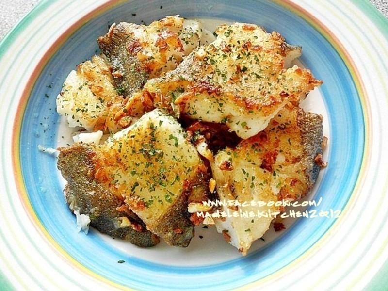 奶油香蒜鱈魚
