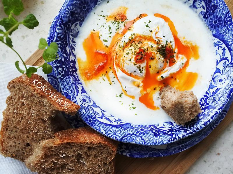 10分鐘到土耳其優格蛋早餐