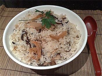 香菇蝦乾大碗飯