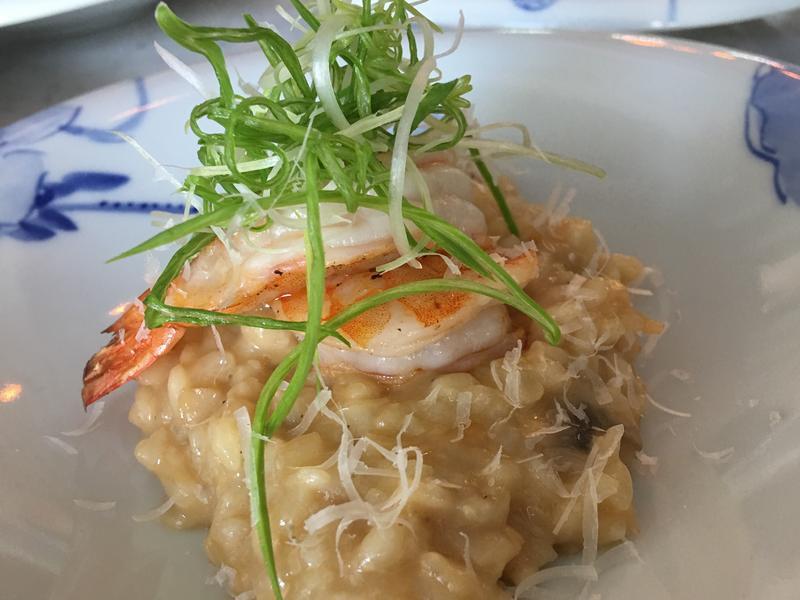 紹興瑤柱鮮蝦燉飯
