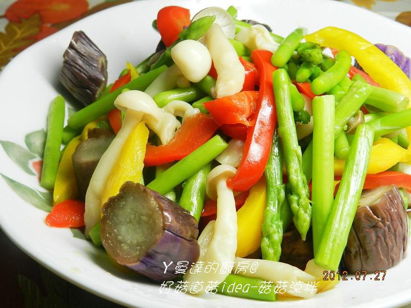 ㄚ曼達的廚房~好菇道菇idea~菇菇涼拌輕食