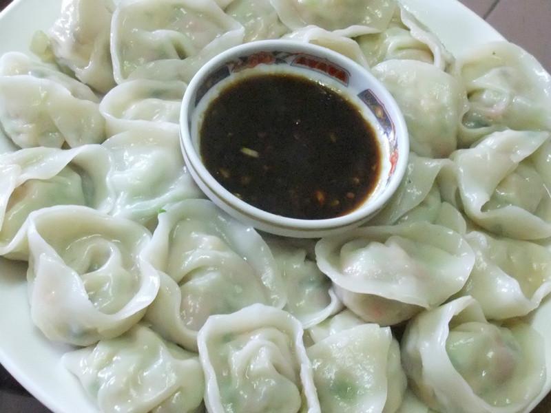 「康寶鮮味炒手鰹魚風味」乳酪屁屁創意水餃(馬蹄&蛤蠣)