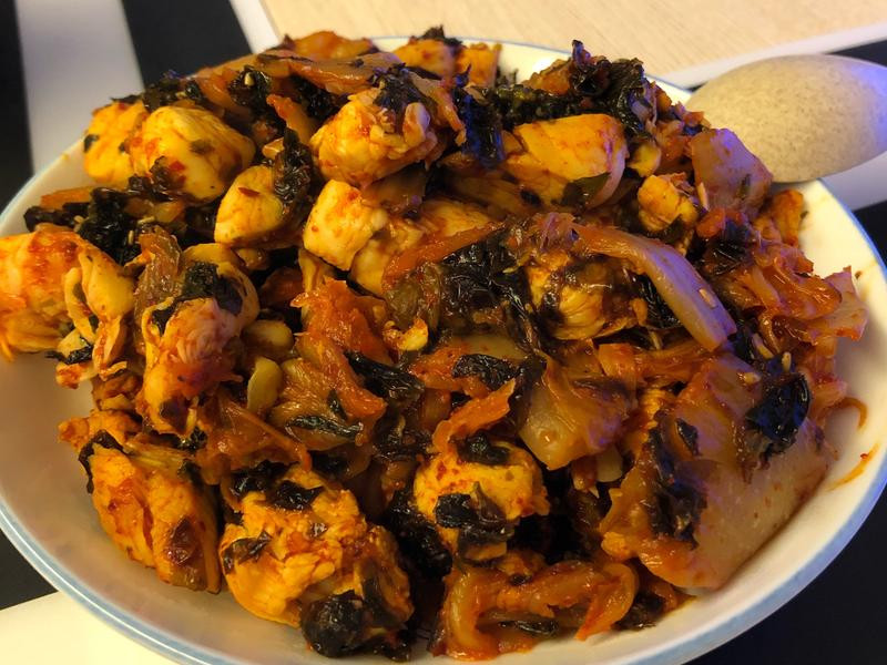 韓式泡菜炒雞柳
