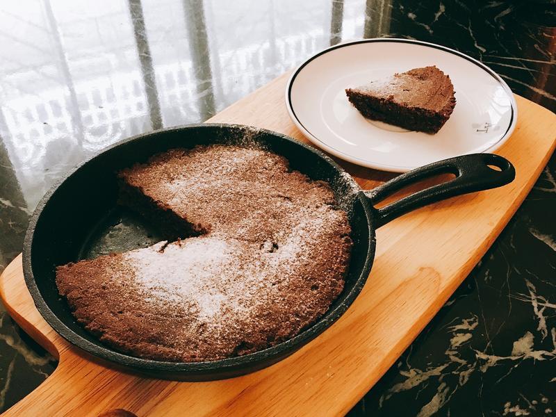 巧克力布朗尼 椰子油版
