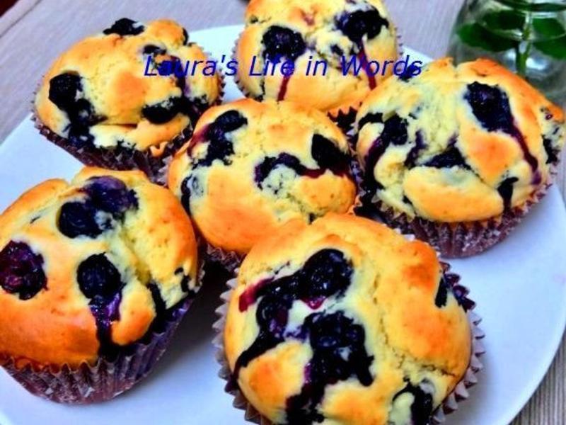 低糖少油藍莓馬芬