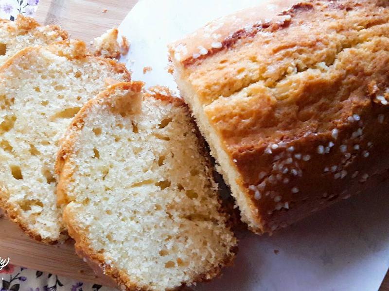 香草奶油磅蛋糕