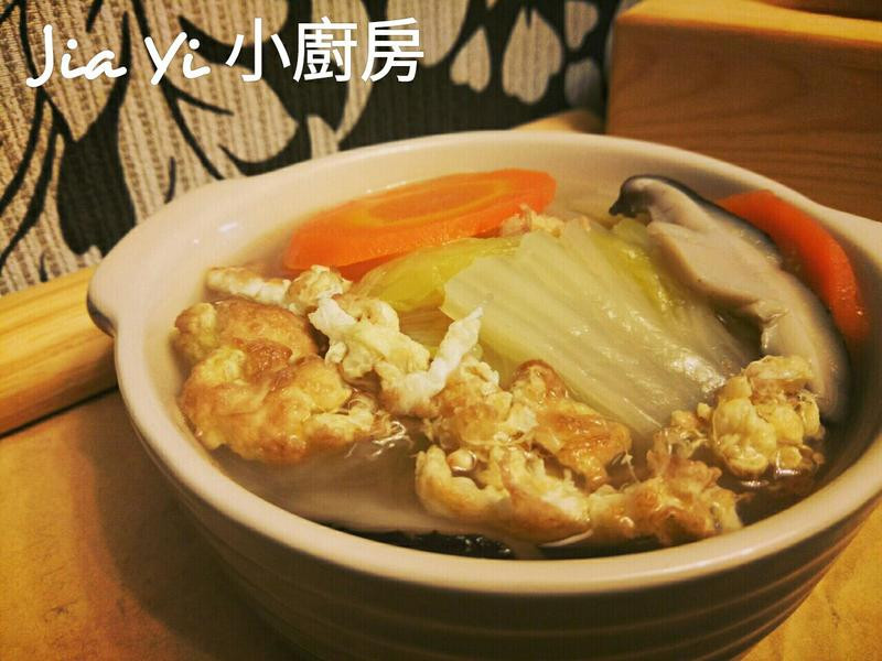 蛋香滷白菜