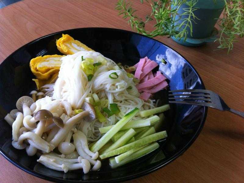 [好菇道菇idea]和風柚香雙菇冷麵
