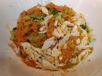 南瓜雞肉健康低脂沙拉