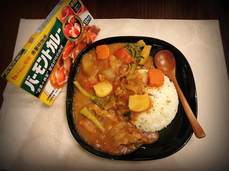 佛蒙特酸甜番茄咖哩飯
