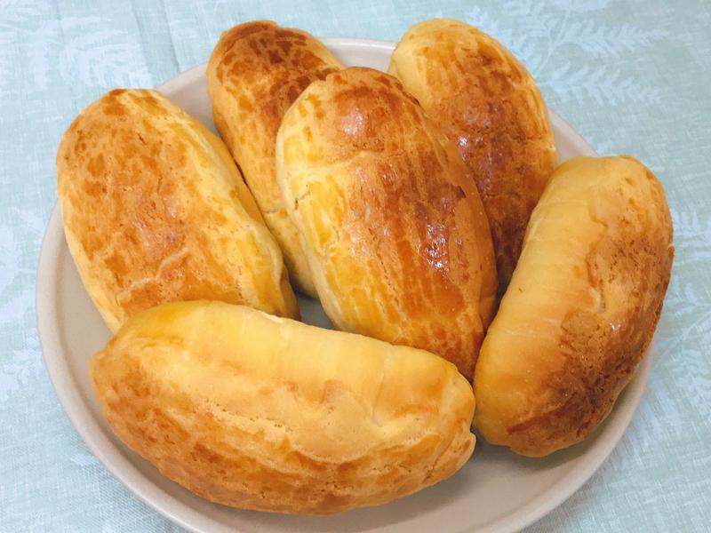 菠蘿鹽可頌 鹽奶油麵包卷