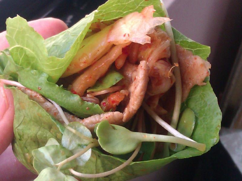 【韓式】泡菜鮮蔬肉捲