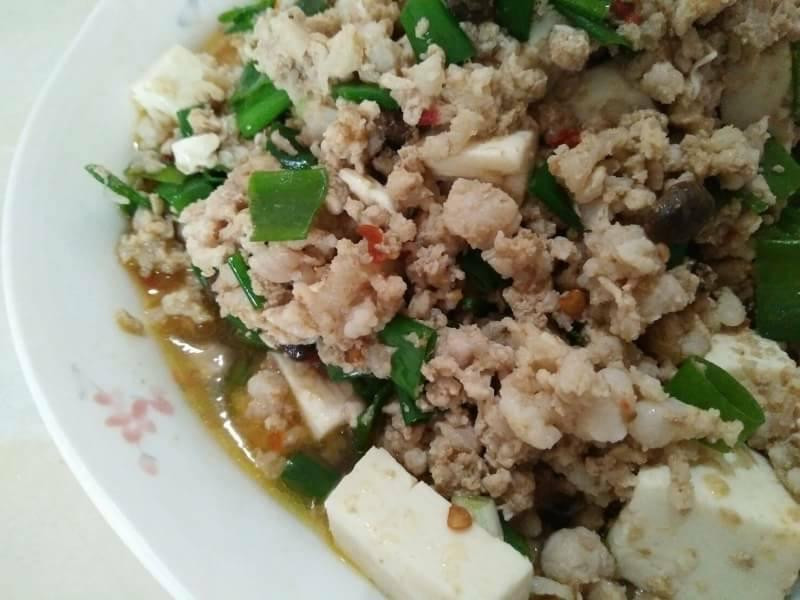 麻婆豆腐【豆豆愛的料理】【龍息辣肉醬】