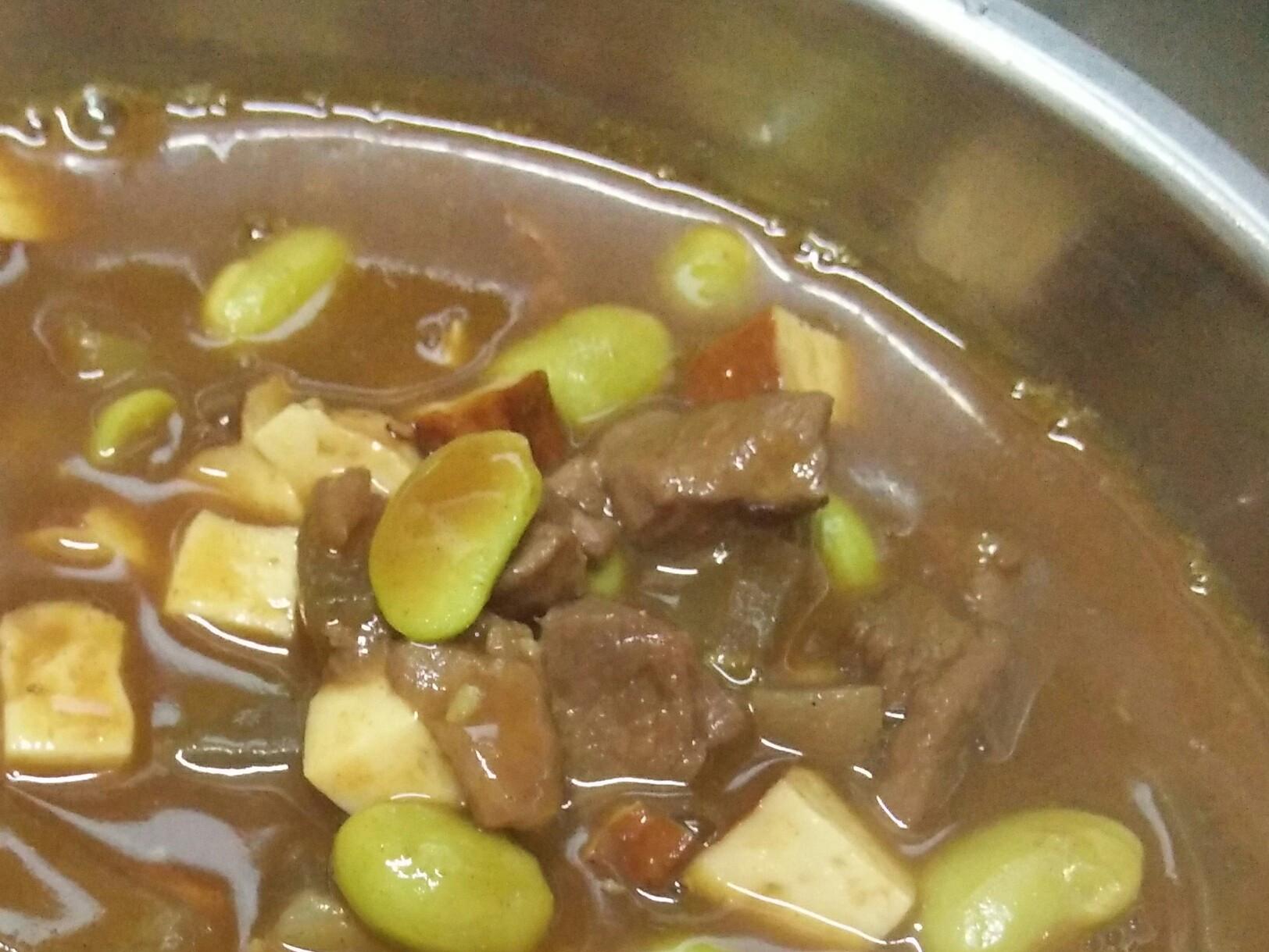 羊肉豆干咖哩