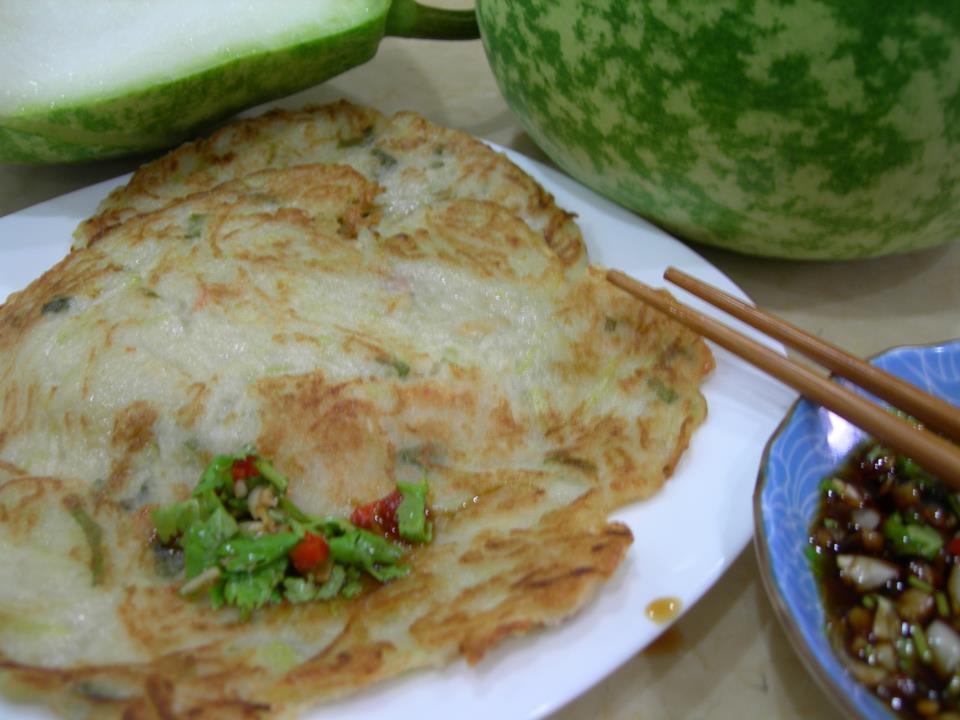 古早味櫻花蝦胡瓜煎餅