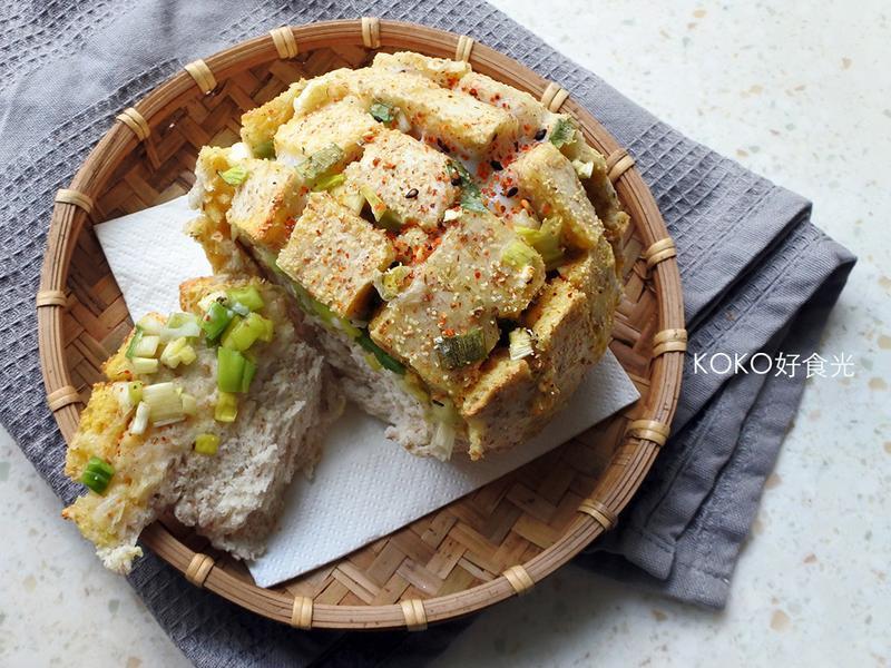 一定發蔥滿蛋香烤饅頭花_15分鐘中式早餐