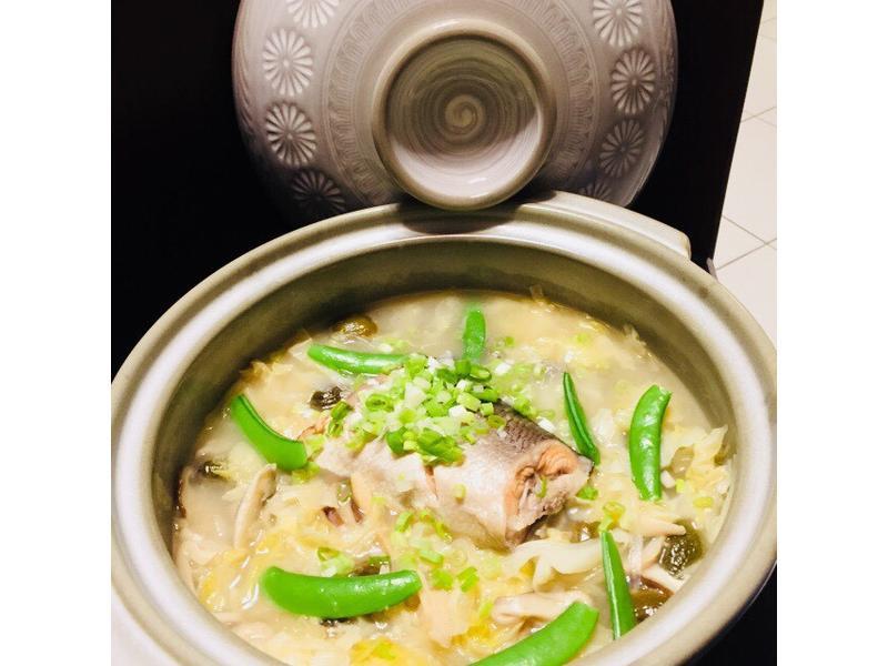 戰士雜煮~鮭魚燉菜