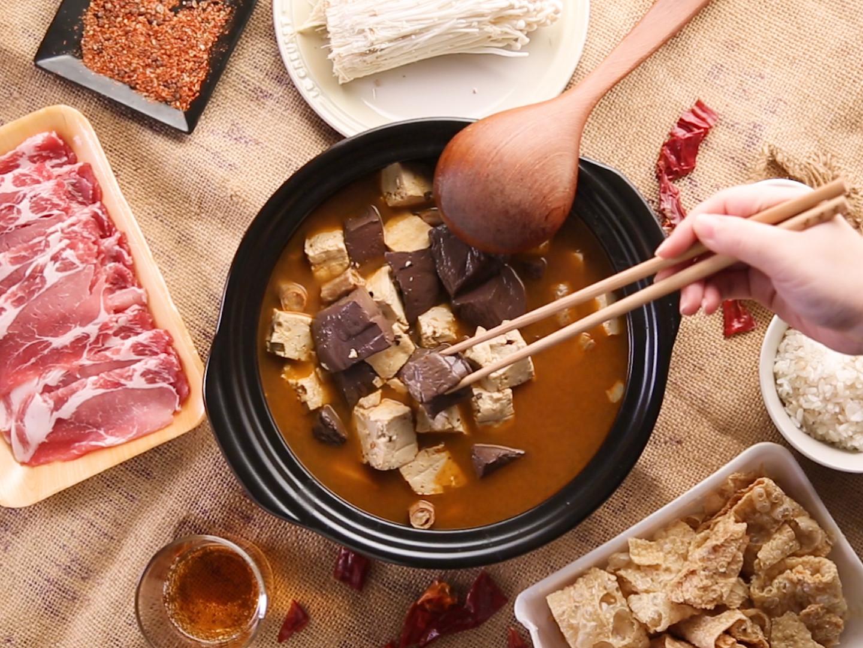 自製麻辣鍋湯底