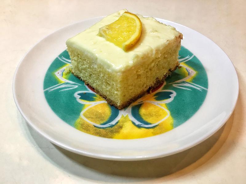 柳橙白巧克力磅蛋糕