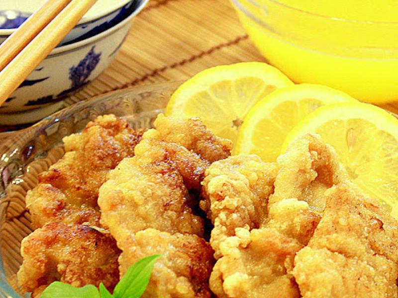 檸檬雞柳 ~ 酸酸甜甜很開胃!