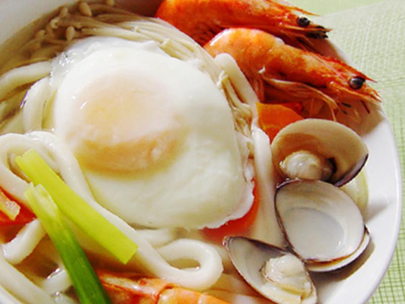 【厚生廚房】海鮮烏龍麵