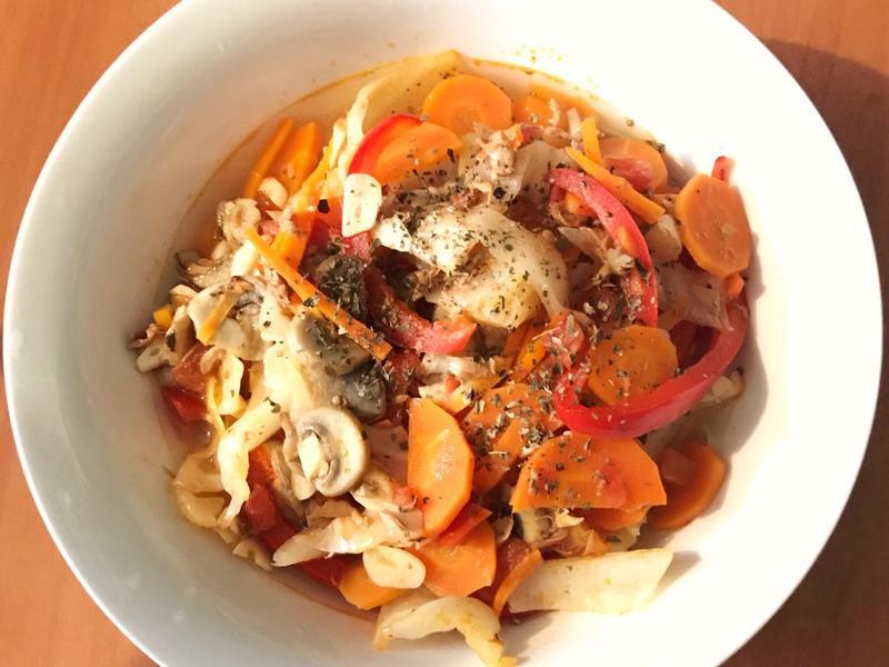 番茄鮪魚湯麵
